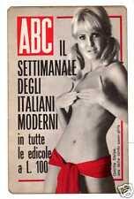 CALENDARIIETTO 1968 ABC SETTIMANALE EROTISMO STOLPE