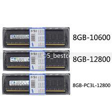 Samsung 8GB 16GB 32GB DDR3/ DDR3L 1333 1600 MHz 240pin 2Rx8 Desktop Memory+ Tool