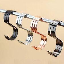 Großhandel Edelstahl S-Haken Metallhaken Vierfarben Kleiderhaken