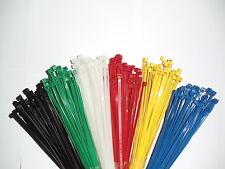 1/10/50/100/1000 Kabelbinder grün blau gelb weiß schwarz rot braun grau  EU Ware