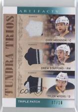 2014-15 Upper Deck Artifacts #T3-BUF Tyler Myers Drew Stafford Cody Hodgson Card