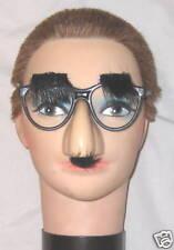Halloween Costume Accessory - Nerd Eye Glasses w Nose