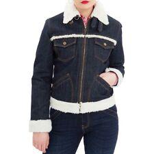 Queen Kerosin Rockabilly Vintage Denim Jeans Jacke Winterjacke - Deep & Dry