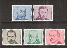 SWITZERLAND # 535-9 MNH FAMOUS MEN PERSONALITIES