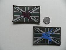 Parachute Regiment,  Pegasus / Union Jack morale patches, velcro backed.