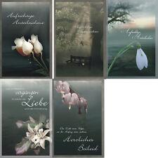 condoglianze CARTOLINA LUTTO beileidskarten beileidskarte kondolenz - 81-6510