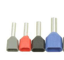 Zwillingsaderendhülsen 2x0,50 2x0,75 2x1 2x1,5 2x2,5mm² Duoaderendhülsen Klauke