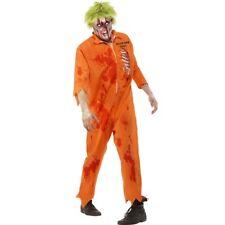 Zombie Costume Prisoner Convict Costume Halloween Outfit Monster Verbrecher