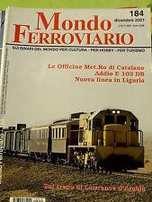Mondo Ferroviario 184 2001 Addio locomotive E 103 DB