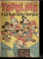 ALBO D'ORO # 58-21 GIUGNO 1947-TOPOLINO E LA MACCHINA