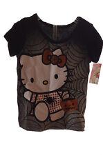 Toddler Girls Baby Halloween Hello Kitty SS T Shirt Glitter 12 18 Months 4T NEW