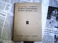 morelli elementi di diritto internazionale privato