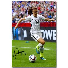 Alex Morgan Soccer Star Sport Silk Poster 12x18 24x36 inch 004