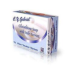 C.Y Gabriel Glutathione Soap with Milk Extract Whitening Rejuvenating 135g
