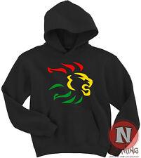 Reggae rasta lion dub rocksteady Jamaica style Hoodie 4 colours