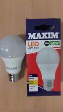 Maxim LED GLS Bulbs 10w ES E27 Screw In Cool White 4000K Lamp 60w