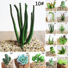 Various Artificial Succulent Flower Plastic Plant Fake Home Garden Office Decor