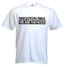 BRIGHTON 1964 abbiamo ARE THE MODS T-Shirt-MOD Target Quadrophenia il chi Jam