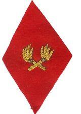 Service des Essences - Losange de bras mle 1945  modèle Officier - cannetille