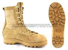 Mens US Military GORETEX ICB INFANTRY COMBAT BOOTS 790 Tan USA MADE Sz 6-14 MINT