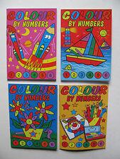 MINI a colori da numeri LIBRO VIAGGI A6 dimensioni Colorazione Colore Vernice PASTELLI miliardi