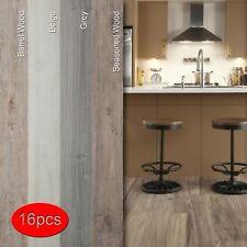 Self-Adhesive Vinyl Planks Hardwood Peel Stick Floor Tiles16 PCS/24 Square Feet