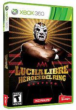 Lucha Libre Heroes Del Ring - Xbox 360, Excellent microsoft_xbox_360, Xbox 360 V