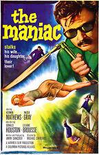 The Maniac - 1963 - Movie Poster