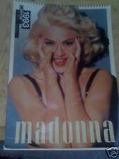 MADONNA  calendar  - calendario 1993 culture shock