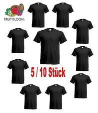 5er/10er Fruit of the Loom T-Shirt Herren Shirts Iconic Sets Tshirt S - 5XL NEU