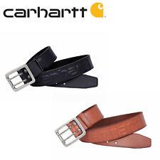 Original Carhartt Logo Belt Leder Gürtel mit Logo versch Größen *FREI HAUS*
