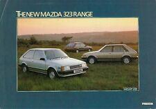 Mazda 323 Hatchback 1980-81 UK Market Launch Leaflet Brochure 1100 1300 1500 GT