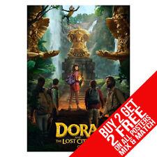 Dora And The Lost Stadt von Gold Explorer Poster A4 A3 Größe - Buy 2 Get Jedem 2
