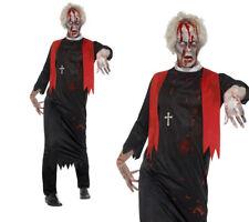 Zombie High Priest Kostüm Herren Minister Halloween Kostüm M-XL Neu