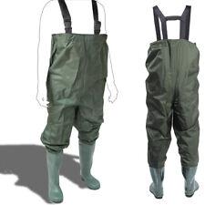 Wathose mit Stiefeln Grün Größe 38 H2N7