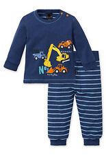 SCHIESSER Baby Anzug Shirt+Hose 2tlg 100% CO Gr 68 74 80 86 92 Set Schlafanzug