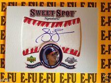 2001 UD Sweet Spot ANDRUW JONES Autograph BOLD NOT FADED Baseball Auto # S-AJ