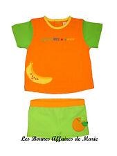 AGATHA RUIZ DE LA PRADA - PROMO -70% - T-shirt et maillot de bain vert et orange