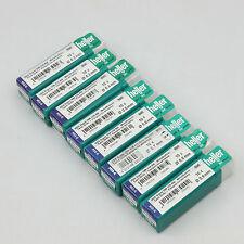 """Heller HSS-R Twist Drills 10pc - 1mm, 1.2mm, 1.5mm, 1/8"""" (3.2mm)"""