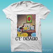 T-Shirt Uomo C'È Disagio Principesse Sballate Idea Regalo
