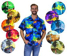 Funky Chemise Hawaïenne Surf Couleurs Variées Différentes Tailles