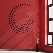 Wandtattoo Punkte Ornament Abstrakt Aufkleber Wandaufkleber Wand Tattoo  #2036