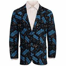 Forever Collectables NFL Men's Carolina Panthers Ugly Business Jacket, Black