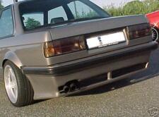BMW E30 DTMFiberWerkz Style Rear Apron Euro Bumper Body Kit FRP