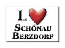 DEUTSCHLAND SOUVENIR - SACHSEN MAGNET ICH LIEBE  SCHÖNAU BERZDORF (GÖRLITZ)