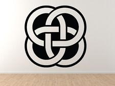 Car Tablet Vinyl Decal Knot Medallion Circle Irish Heritage Celtic Pattern #1