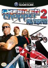 American Chopper 2 Full Throttle Nintendo Gamecube Complete