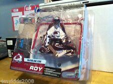 McFarlane NHL Series 6 PATRICK ROY Colorado Avalanche Figure White Shirt Variant