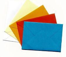 Mini Umschläge für Geldgeschenke kleine Briefumschläge div.Farbe12 Stück Handarb