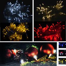 LED Lichterkette 100 200 500 1000 LEDs Weihnachtslichterkette außen innen kette